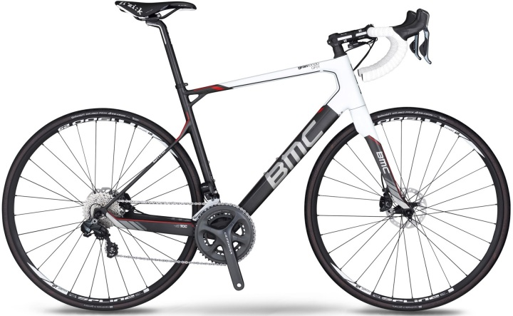 2014 BMC Gran Fondo GF01 ultegra disc white black