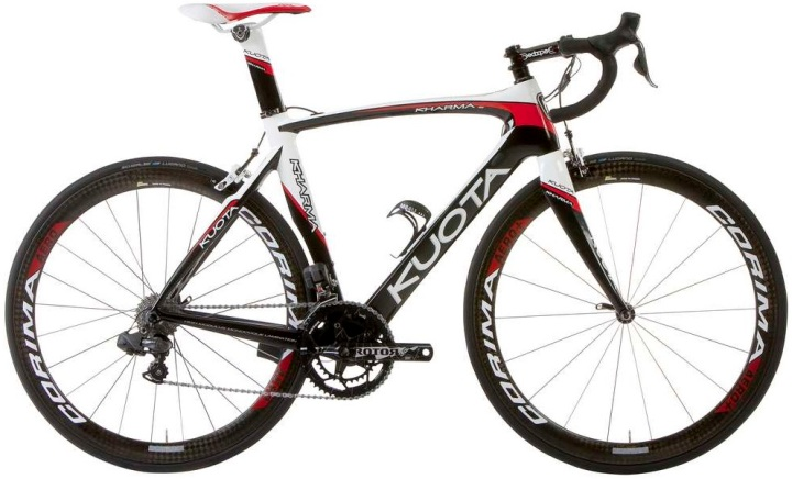 2014 Kuota _KHARMA-BLACK-WHITE-RED shimano