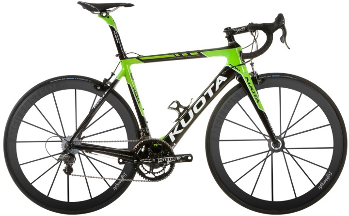 2014 Kuota Kom Green lime super record