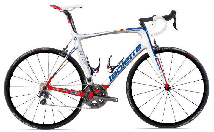 2014-lapierre-aircode-aero-road-bike red blue white ultegra