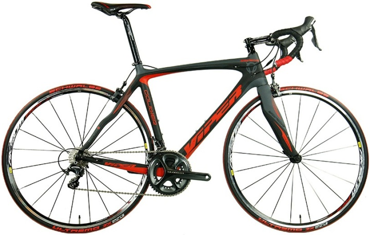 2014 viper galibier ultegra red grey
