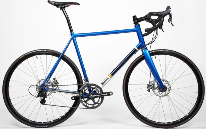 Donhou Nicks road bike blue 2014 campy