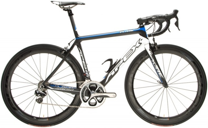 2014 apex flare 0.8 blue dura ace