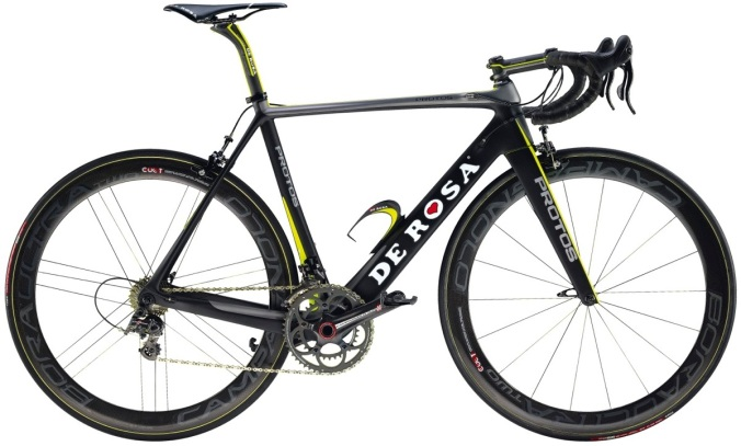 2014 de rosa protos super record black yellow