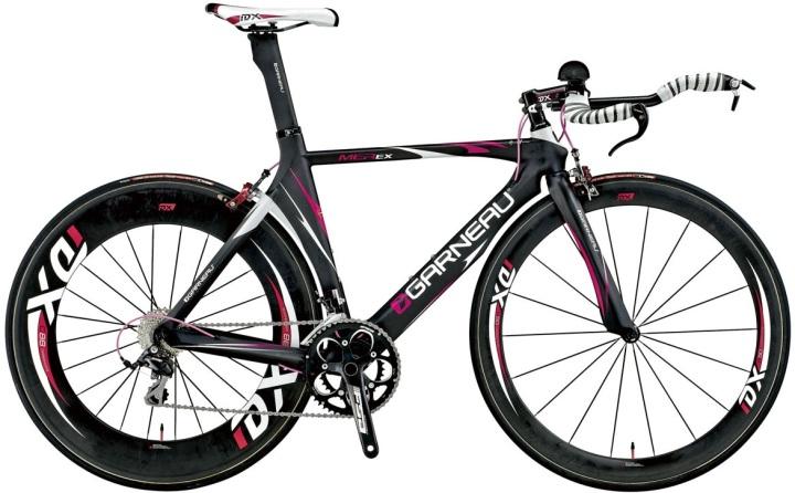 2014 Garneau Mer Ex tt black pink