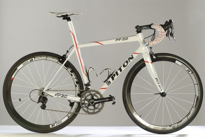 2014 Piton PF22 white campy super record