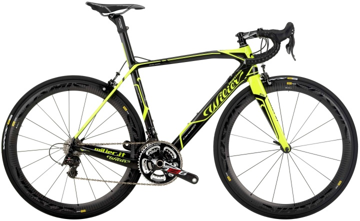 2014 wilier cento1 sr yellow campy eps super record