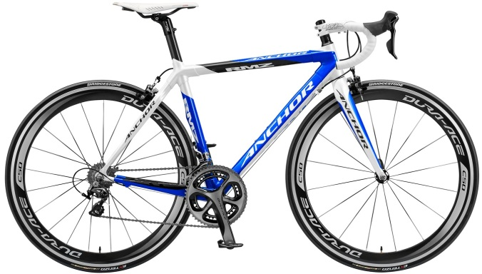Anchor RMZ 2014 blue dura ace
