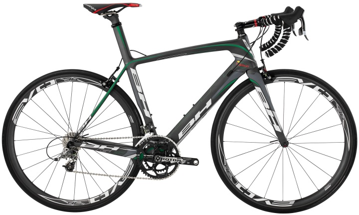 BH G6 2014 grey green sram force