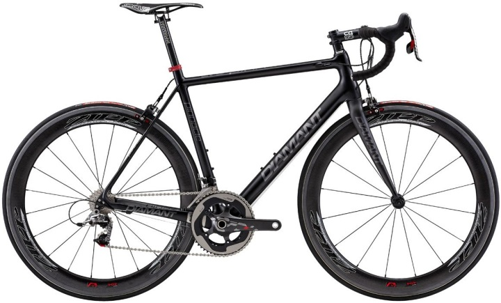 Diamant Pinnacle Ltd 2014 black sram red