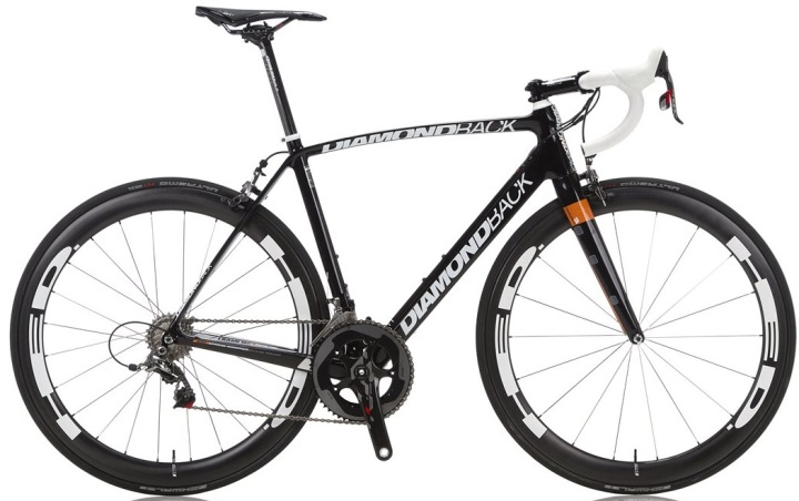 diamondback podium optum 2014 black orange sram