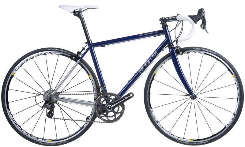 Enigma extensor blue stainless teel campy 2014neuroticarnutzquixote-cycles-road-bike steel blue 2013