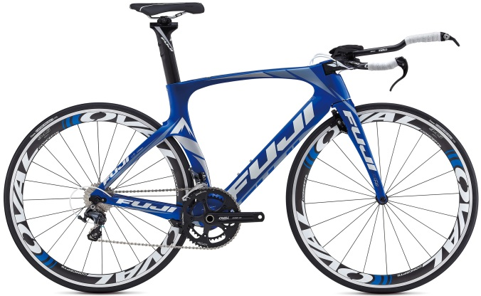 Fuji Norcom Straight TT bike 2013 blue