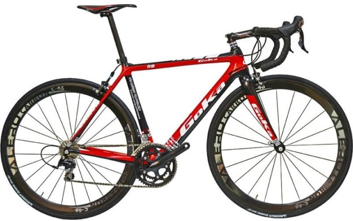 Goka R8 2014 red black
