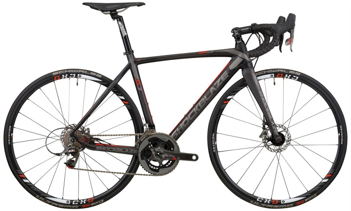 Shockblaze S3 black sram red disc 2014