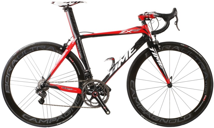 Time zxrs 2014 black red campy eps