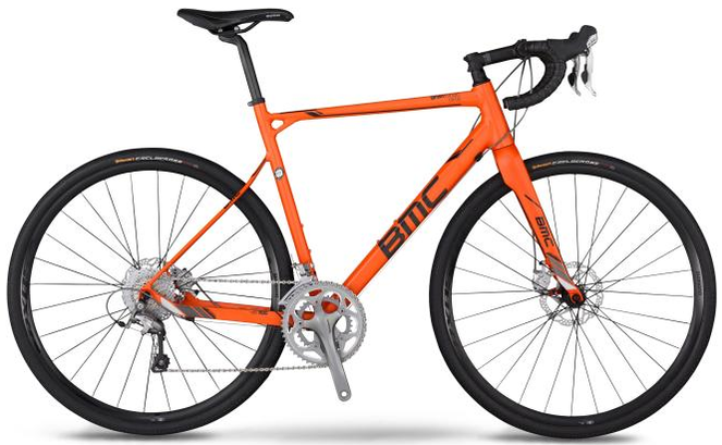 BMC gran fondo gf02 disc 105 orange 2014