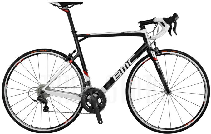 bmc race machine rm01 2014 red white black ultegra
