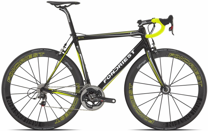 Fondriest TF Zero yellow black 2014 sram