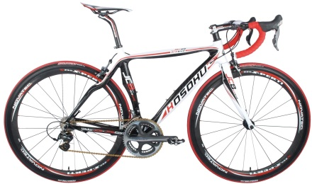 KOSOKU JCB Ace dura ace black red white 2014