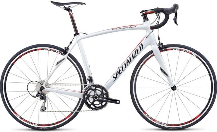 specialized-roubaix-sl4-elite-road-bike-2014 shimano 105 white red