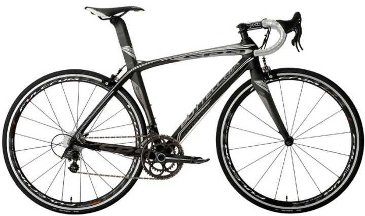 2014 Bottecchia SP9 supernova grey white black campy record