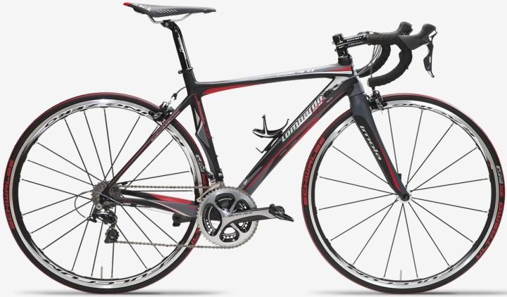 2014 Lombardo Imola 4.0 dura ace red black