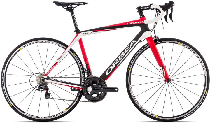 2014 orbea avant ultegra red white black