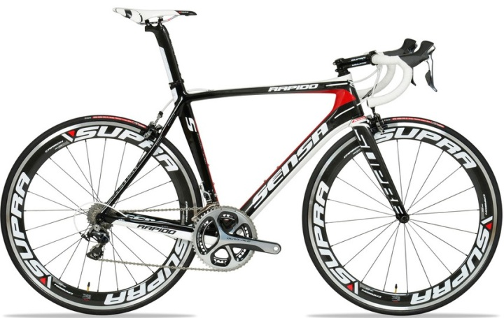 2014 sensa rapido dura ace red black white