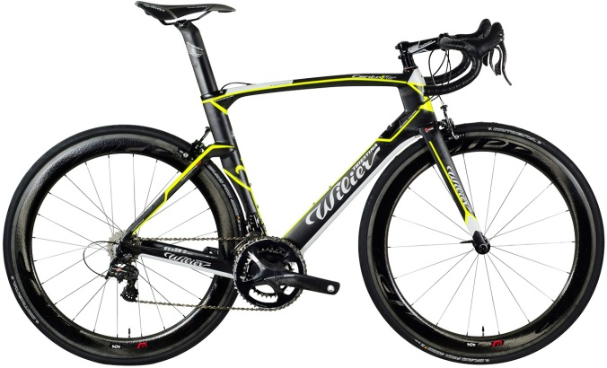 2014 Wilier Cento1 Air yellow campy super record