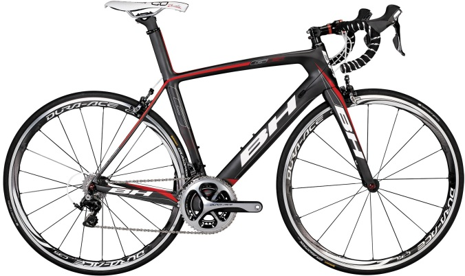 BH G6 dura ace grey red 2014