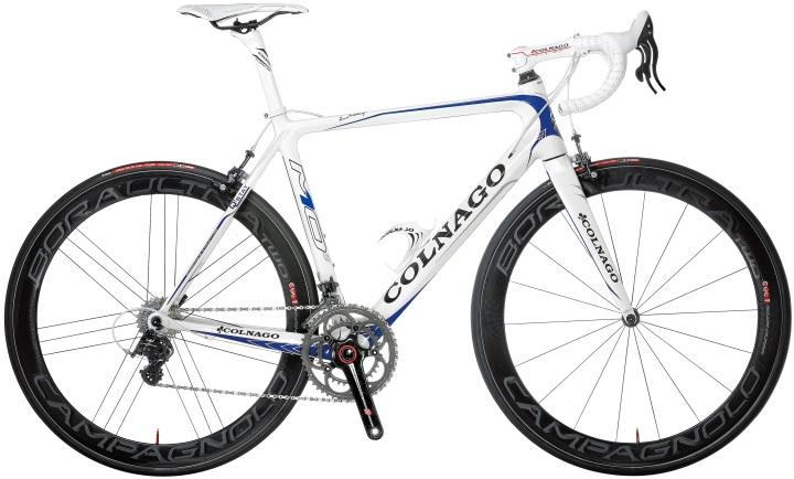 colnago m10-white blue campy 2014