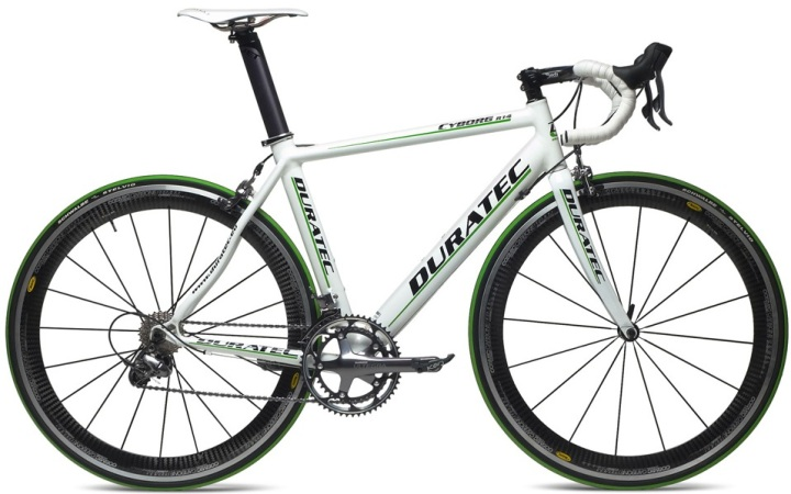 DURATEC CULT CR3 dura ace 2014 white green