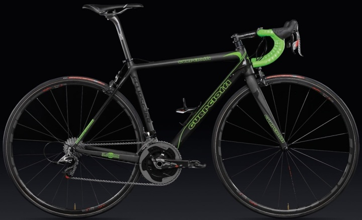 Guerciotti eclipse sram red lime green 2014