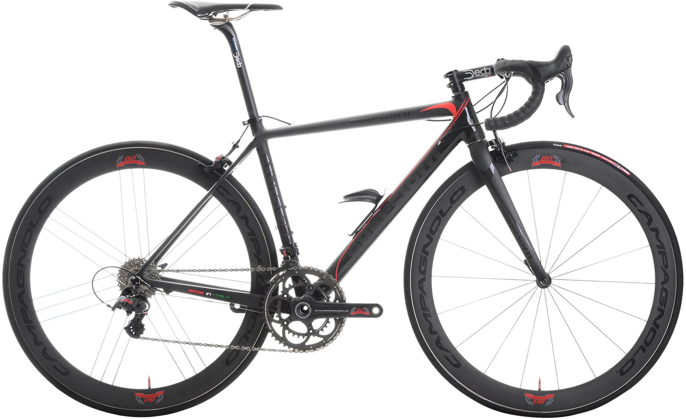 Guerciotti Eclipse Super Record 80th Anniversary Bike 2014neuroticarnutzLiotto Aquila superleggera-black 2014 campy 80th