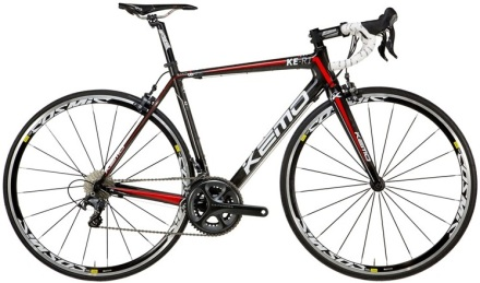 Kemo KE R1 black red ultegra 2014