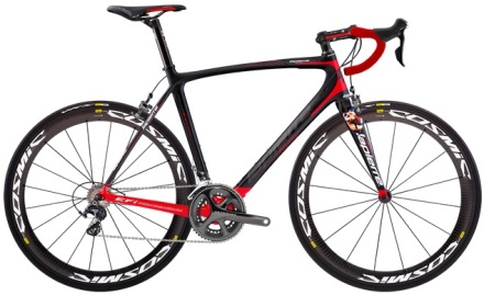 Lapierre Ultimate Xelius ultegra 2014 red black
