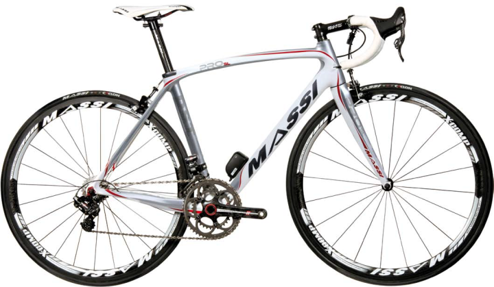 Massi Pro SL campy eps 2014 white red silver