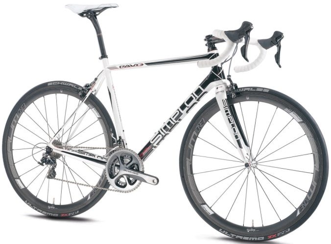 Simplon Pavo 3 white black dura ace 2013