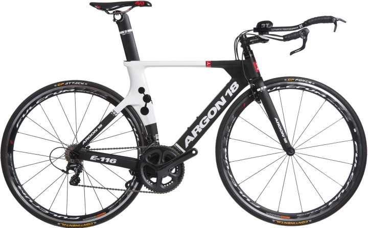 2014 argon 18 e116 ultegra di2 tt black red white