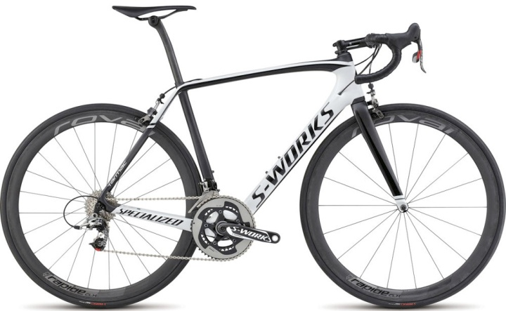 2015 Specialized S-Works Tarmac black white Sram red