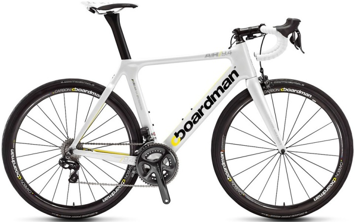 Boardman Air 9.4 Di2 2014 white ultegra