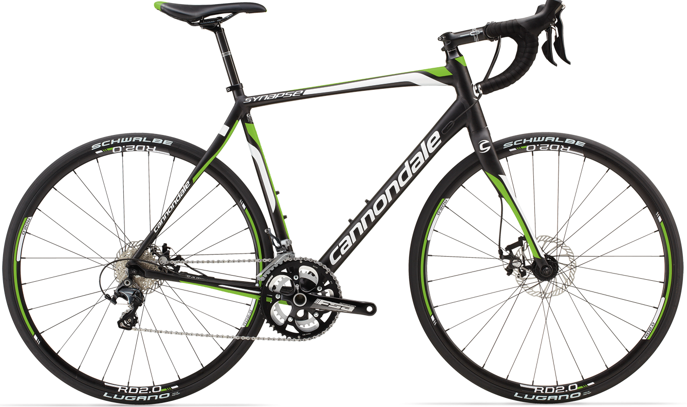 Cannondale Synapse Disc 3 ultegra lime black 2014neuroticarnutz2015 Olmo Personal ultegra disc green