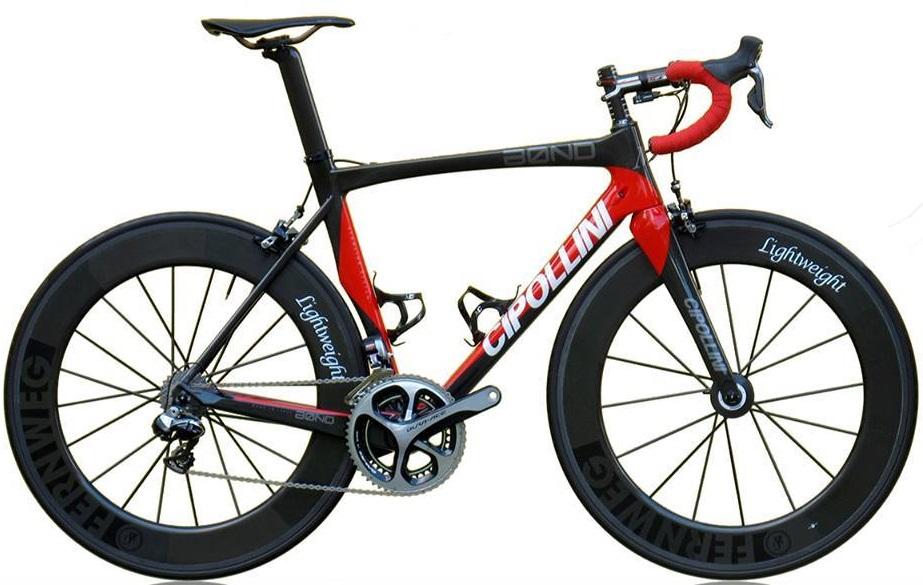Cipollini Bond red black dura ace lightweight wheels 2014neuroticarnutzTime Skylon-Team_bike 2015 red white black campy