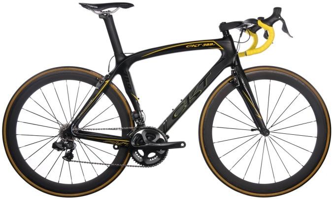 CKT 389ssp- black yellow 2014 ultegra