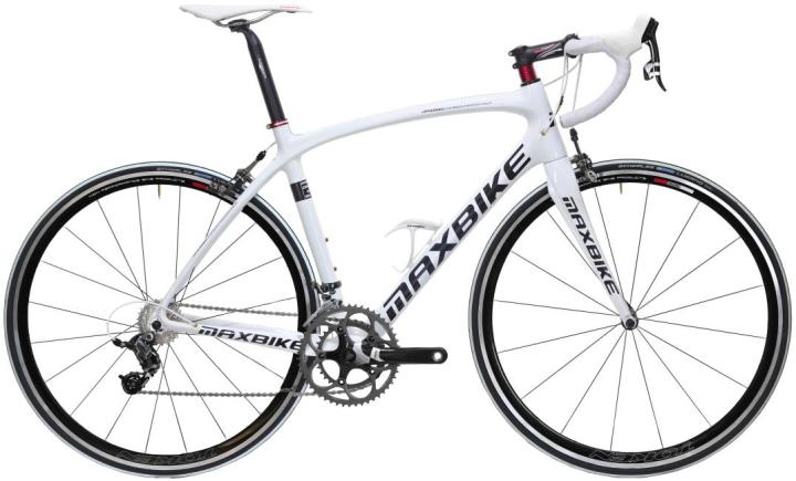 Maxbike 2014 Nevea white sram force
