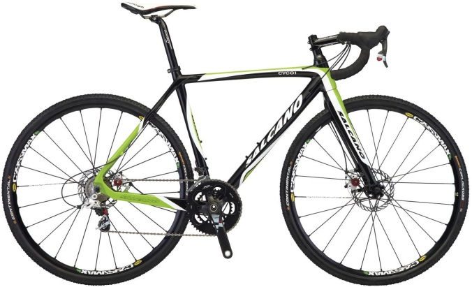 Salcanon Cyc 01 lime green disc cx 2014