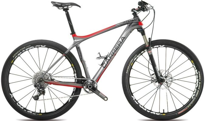 carrera stone 29er 2014 silver red