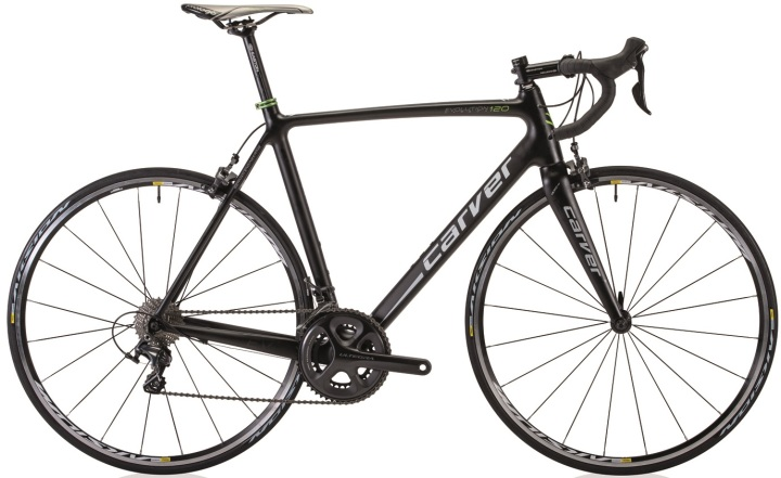 Carver Evolution-Carbon-120_green black 2014 ultegra