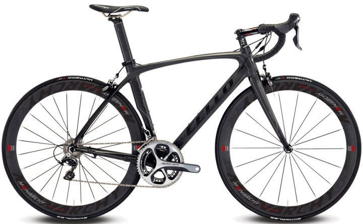 Cello Elliot S8 MR 2014 dura ace black silver